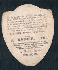 1900 the 1st ever hockey card ? St. Helen's Recs Wigan Warriors interest Baines